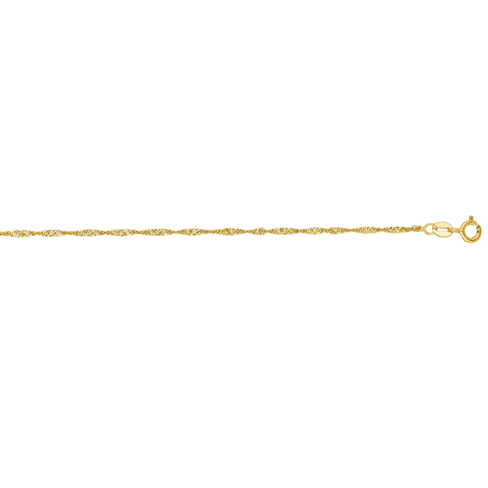 diamond bracelet tennis jewelry lyst metallic women zoe linked chicco in s gold anklet yellow